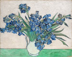 Irises by Van Gogh (1890)