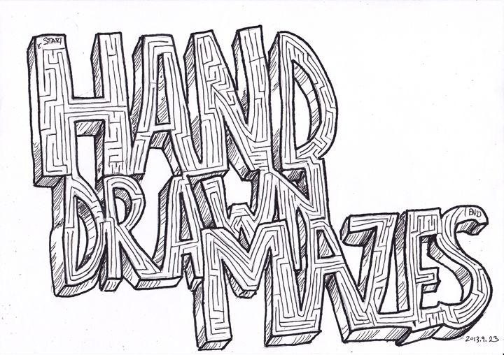 Hand Drawn Mazes Title - Hand Drawn Mazes