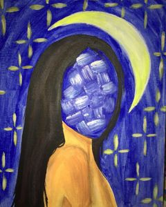 faceless girl