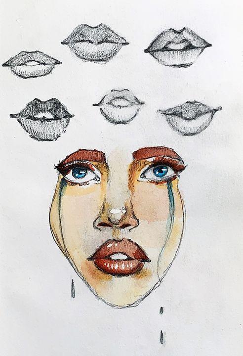 Lip Study - Ashley Lynne Busby