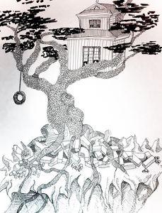 Treehouse Sketch