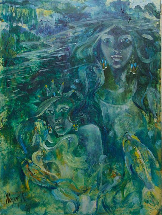 water nymph - Natalia Nosyk Art