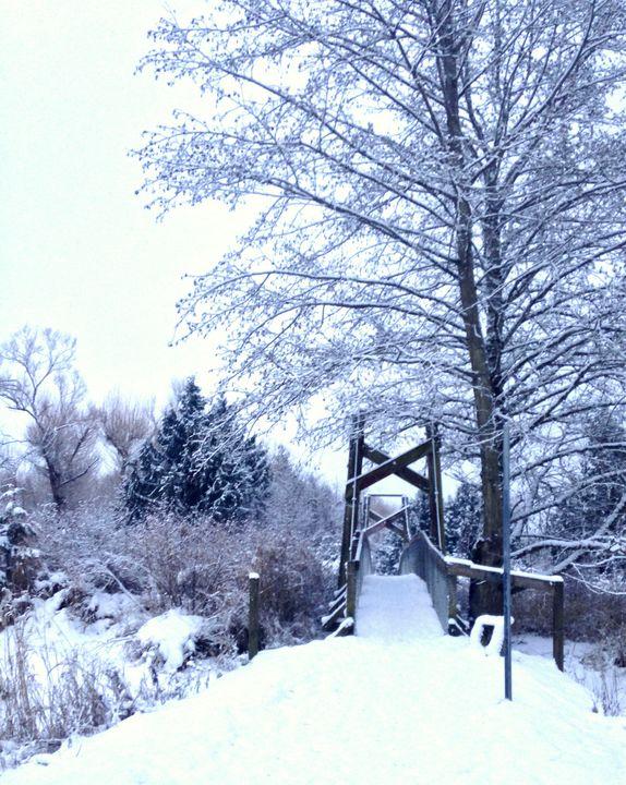 Suspended in Snow - byteSMART Digital Visions