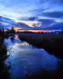Nikomekl Spring Sunset - byteSMART Digital Visions