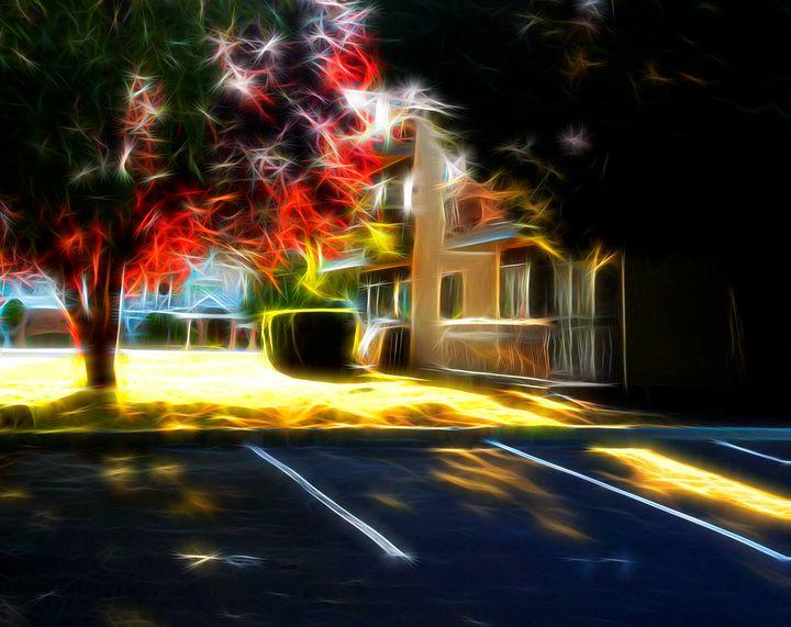 Late Summer Urban Lawn - byteSMART Digital Visions
