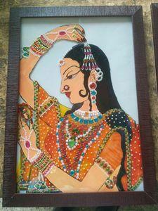 Princess Glass Painting