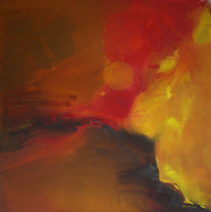 Yellow sun - Tanto Crazy Art