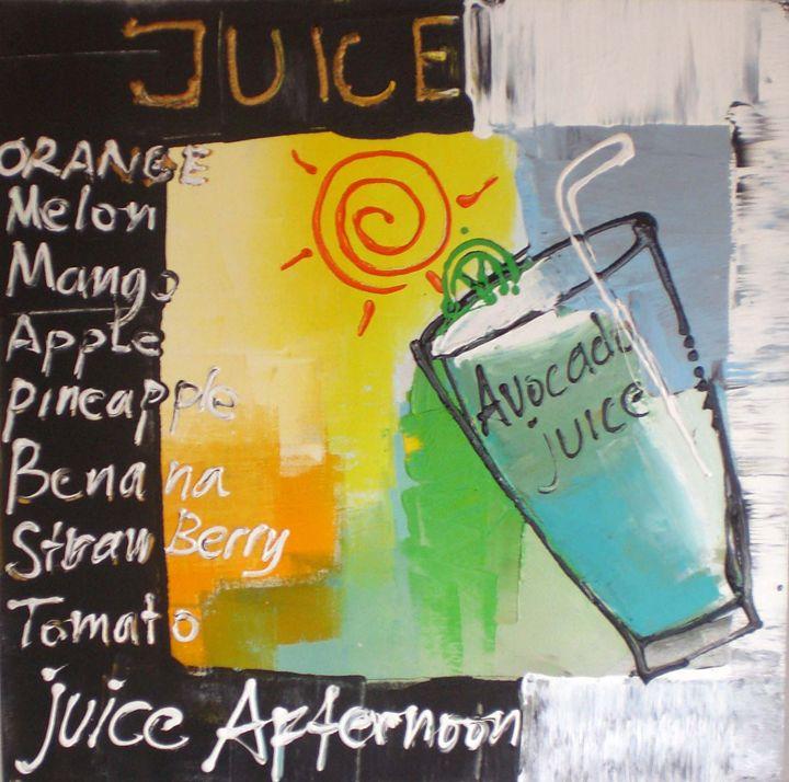 Avocado juice - Tanto Crazy Art