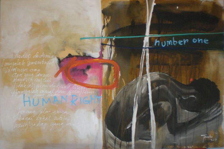Human right 1 - Tanto Crazy Art