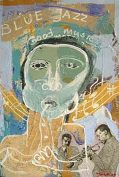 Blue jazz - Tanto Crazy Art