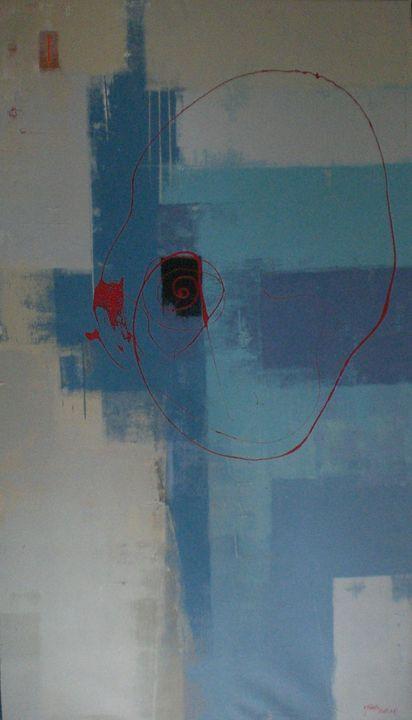 Red circle - Tanto Crazy Art