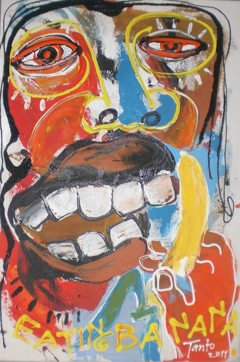 Eat banana - Tanto Crazy Art