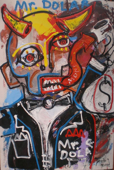 Mr. dolar - Tanto Crazy Art