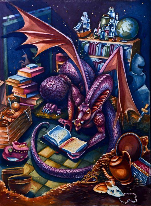 Dragon's Library - Midsummerstudios