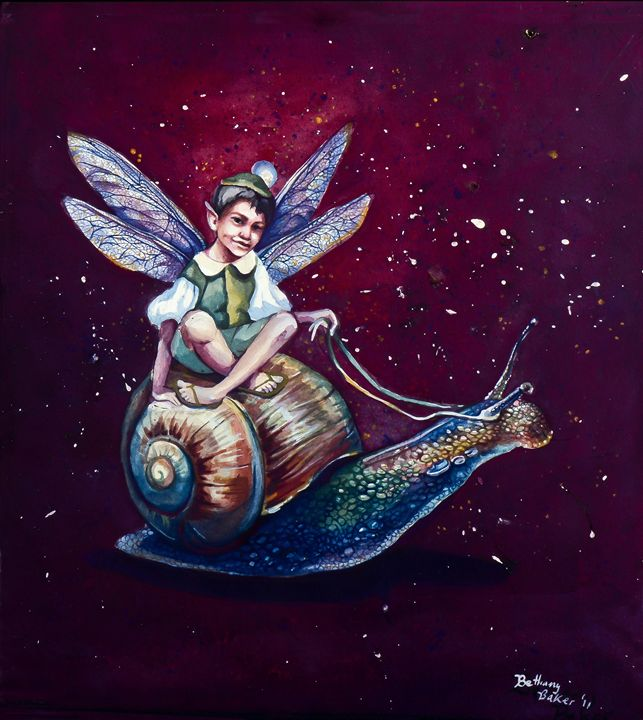 Fairy /& the Snail