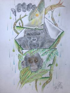 A3 Monkey world - Sketch shed