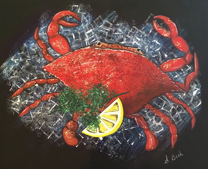 Crab on Ice - NOLABubble