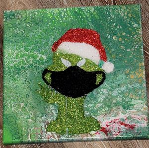 Mr. Grinch Ain't Playing - Amarris's Art to Start