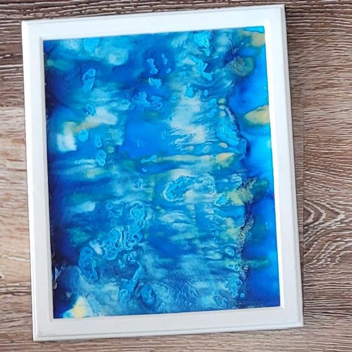 Silver-Blue Bells - Amarris's Art to Start