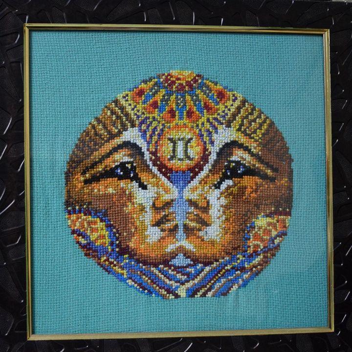Gemini - Cross Stitch and Paintings