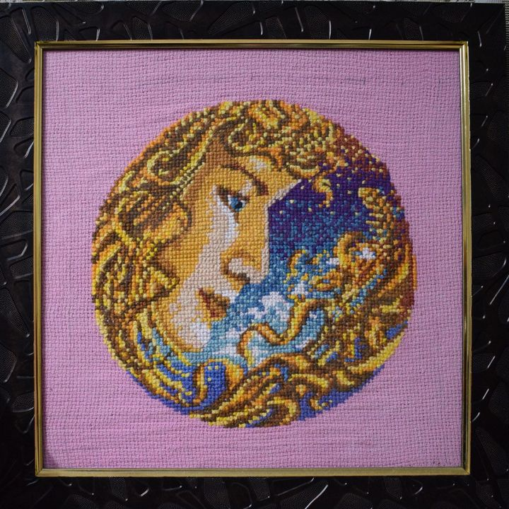Virgo - Cross Stitch and Paintings