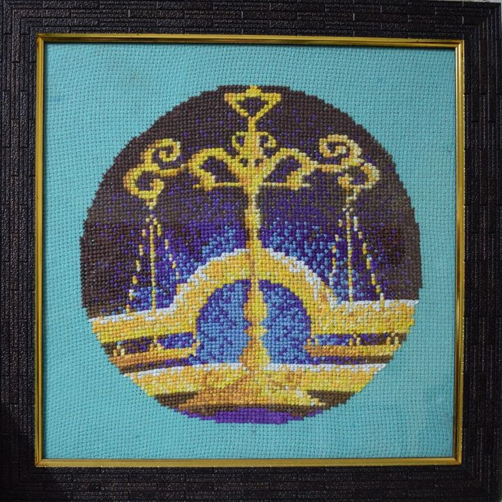 Libra - Cross Stitch and Paintings