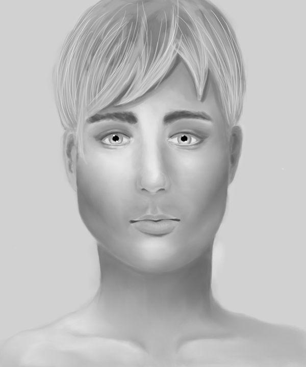 Male portrait - Ivana Derer