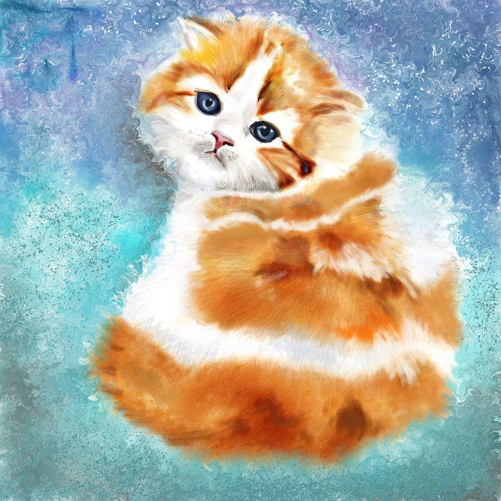 cute orange cat - better life