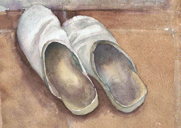 Clogs - Tuckett Watercolours