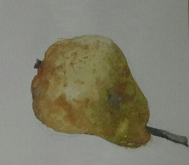 a pear - Tuckett Watercolours