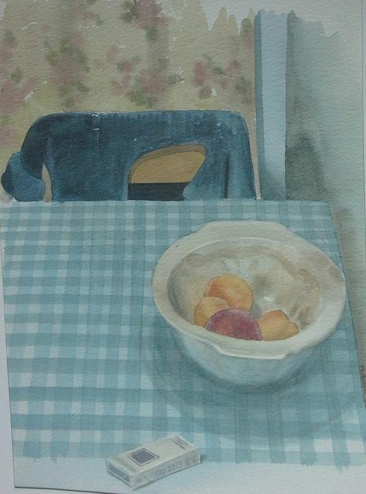 the bedsit - Tuckett Watercolours