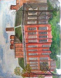 """painting of 'KENSINGTON PALACE'"""