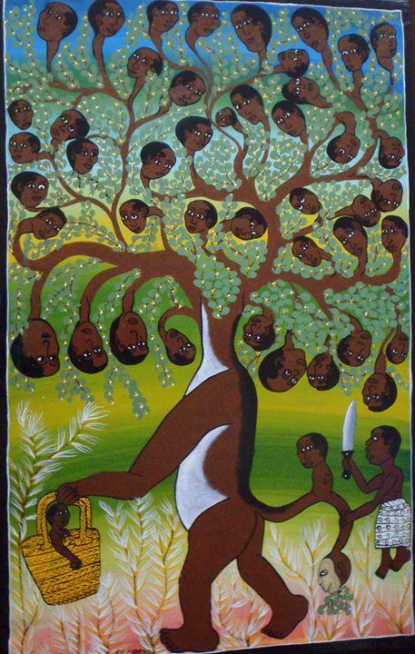 tinga tinga 69 x 110 cm - Modern African