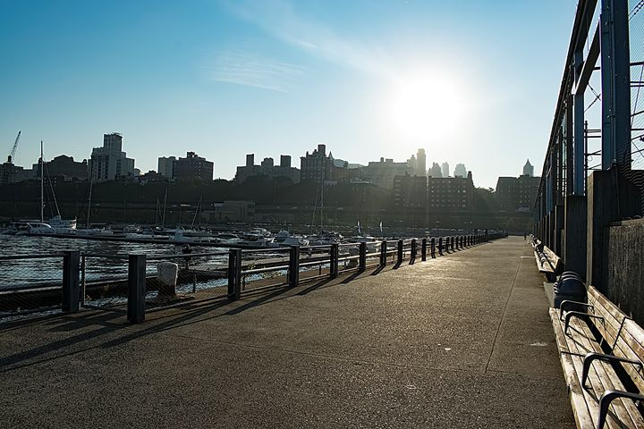 Brooklyn Promenade 2 - Laurance Grube Photography