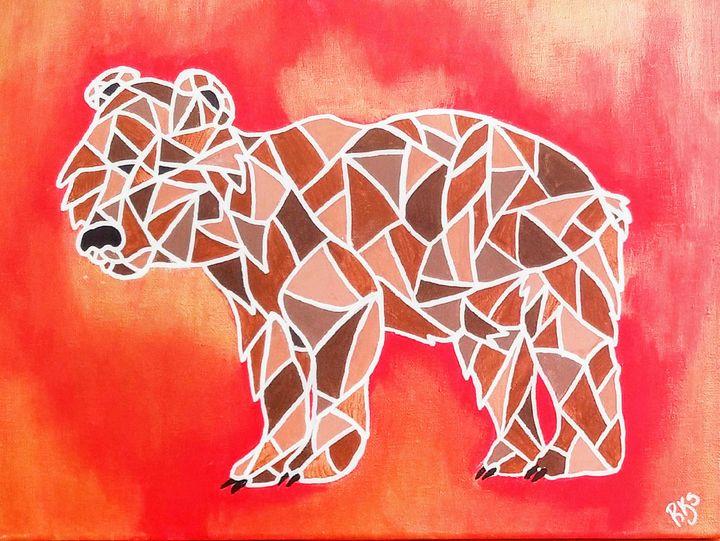 Abstract Bear - RKS art