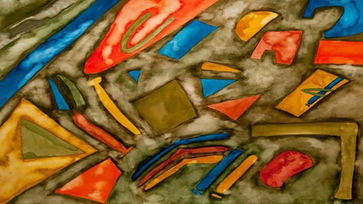 Floating Shapes - Philip Q. Johnson