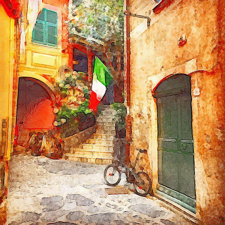Portovenere, Italy - Goldiespix