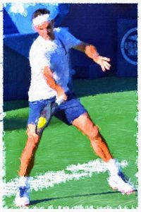 The Maestro Roger Federer - Goldiespix