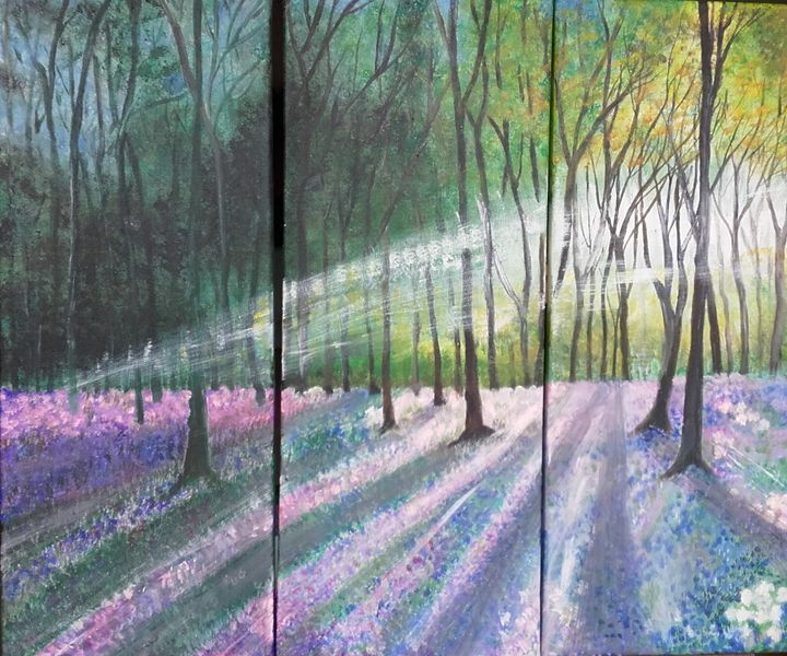 Blue bells in the Woods - My view of nature
