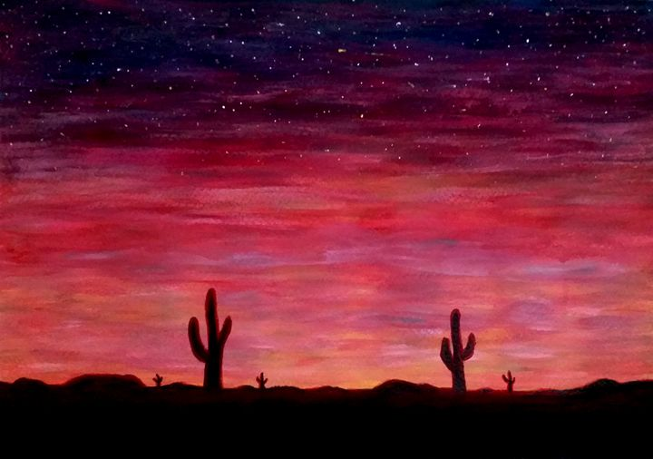 Desert Sundown - Julia's gallery