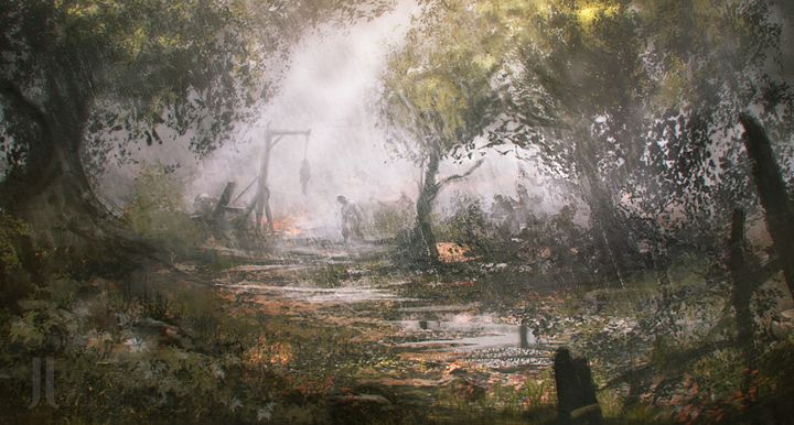 Omnious woods - Johan Jæger