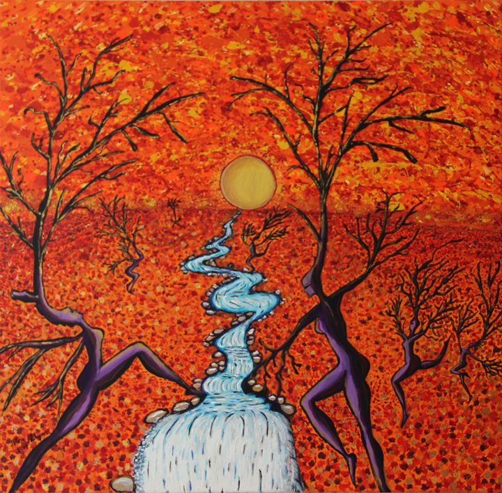 The charmed forest - Maya Malaga