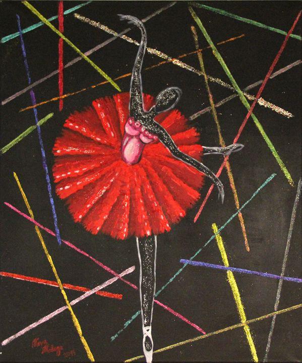 Red ballerina - Maya Malaga