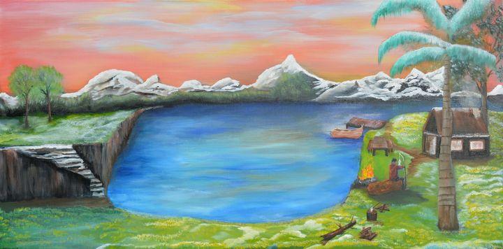 Gone Fishing - ShintaraRose Art