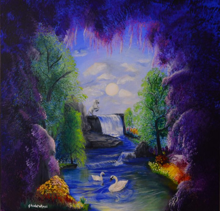 """""""Seeking Serenity"""" - ShintaraRose Art"""