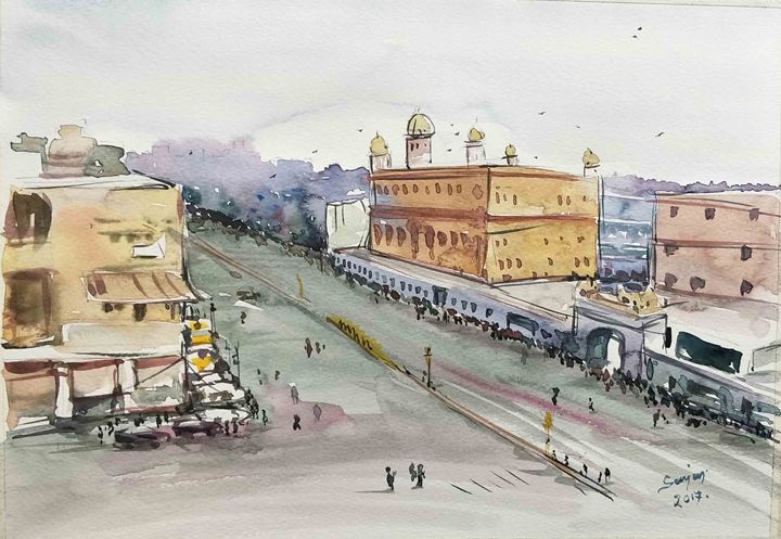 gurdwara delhi india - SANJAY DAS