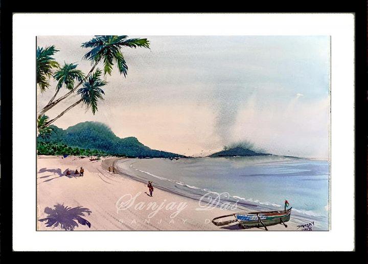 Beautiful beach - SANJAY DAS