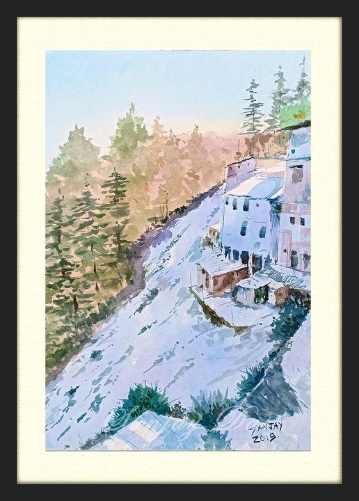 watercolor on paper - SANJAY DAS