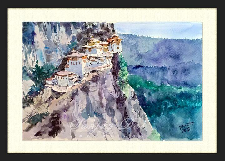 Paro Taktsang bhutan - SANJAY DAS
