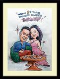 hobby caricature